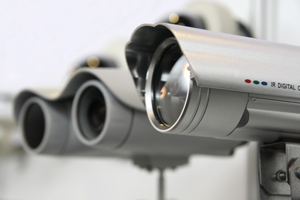 CCTV security cams.
